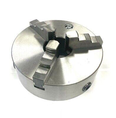 New 10 Lathe Chuck 3 Jaws Plain Back Self Centering High Quality Steel K11250