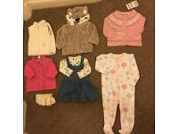 Baby girl 0-6 months bundle