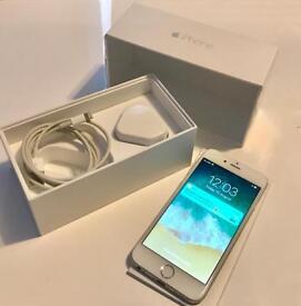 Apple iPhone 6 16gb Silver & White On Vodafone/ Lebara