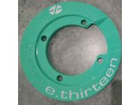 Brand new e.Thirteen bashguard in limited edition light green colour