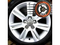 "17"" Genuine Audi SE alloys Caddy Golf etc matching Michelin tyres."