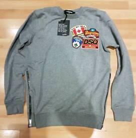 Mens Dsquared2 Sweatshirts, Size Medium