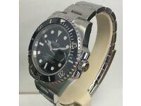 Rolex Submariner Black Face