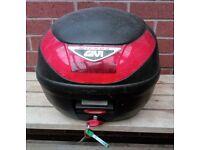 Givi micro 2 Motorbike top box 26l