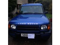 2001 Land Rover Discovery 2 2.5 TDI GS Automatic in rare Monte Carlo blue. 111832 miles