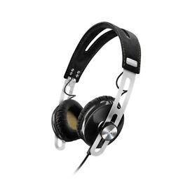Sennheiser Momentum 2.0 On-Ear Headphones Black iOS iPhone iPad iPod NEW WARRANT