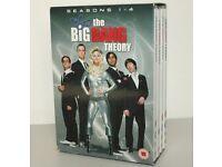 The Big Bang Theory DVD Box Set Seasons 1-4