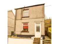 TO LET! **Detached**, 2-bedroom house on Gwernllwyn Terrace, Tylorstown. £425 PCM.