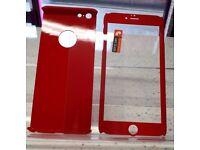 iPhone 6 Plus, 6S Plus 360 Red Protect Case