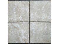 Pietra D'Assisi Noce Beige Porcelain Tiles 20x20cm - Price Per Square Metre