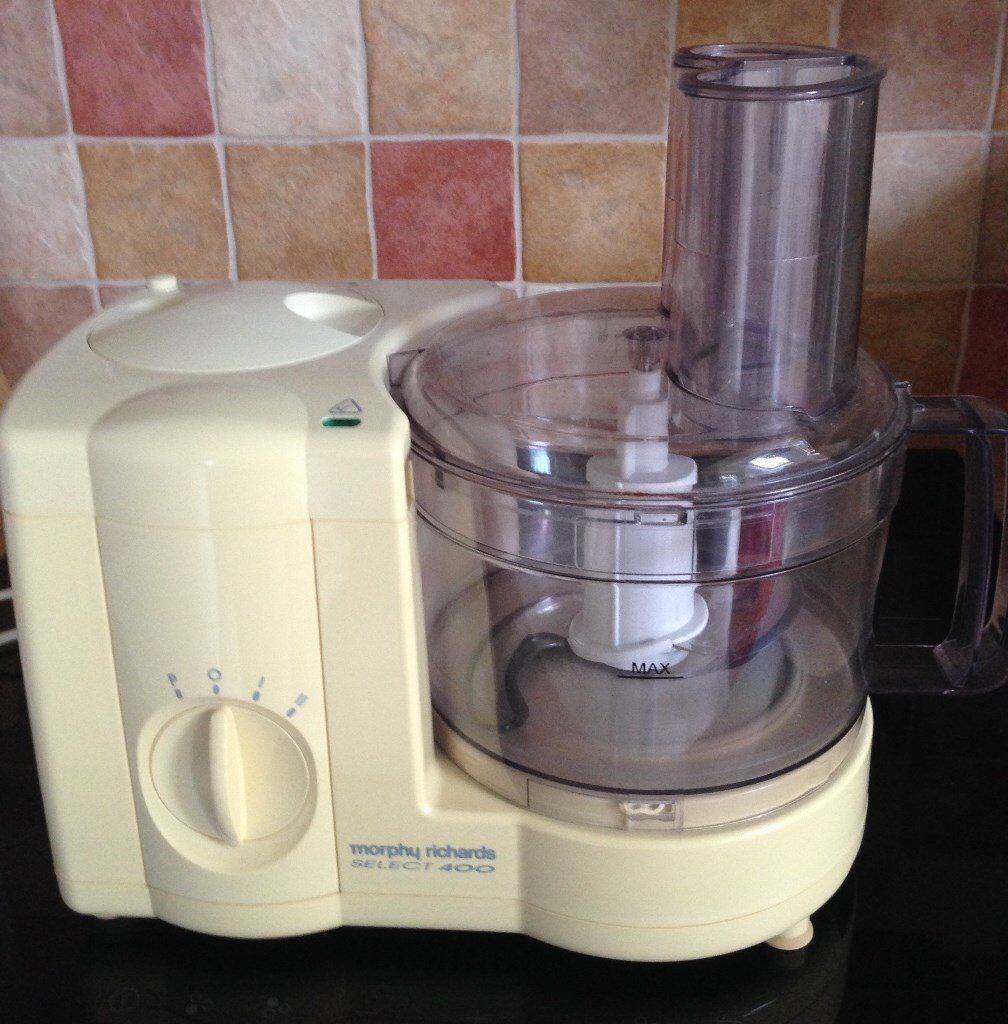Morphy Richards Food Processor Not Working