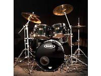Mapex Saturn Series Drum Kit complete