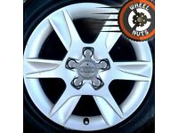 "16"" Genuine Audi A3 VW Golf alloys excel cond excel tyres."