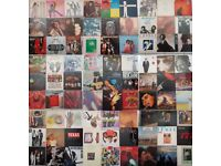 300 x Vinyl Records Soul Funk Rock Soundtracks Dance + Record Cases For Sale