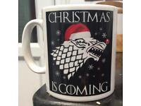 GOT ; Christmas is Coming Coffee Mug