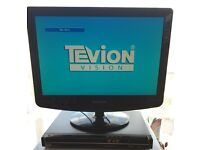 LOW LOW PRICE!! Only £10!!! QUALITY Fully Working!! TEVION BLACK DVD Player