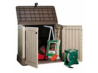 *** New Keter Store It Out Midi Plastic Outdoor Garden Storage Shed - Slight cosmetic damage ***