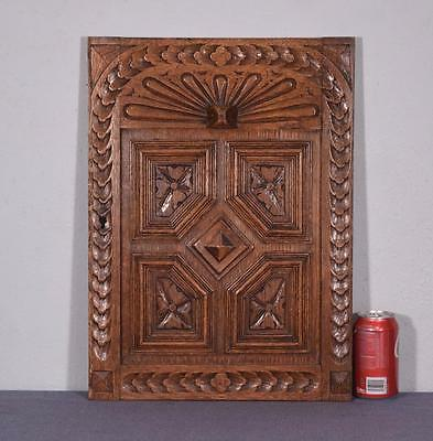 French Renaissance Revival Antique Oak Wood Panel/Door (4 AVAILABLE)