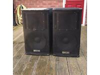 ev eliminator speakers unloaded