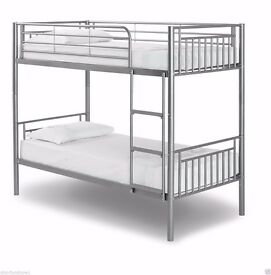 cheapest price guaranteed!! BRAND NEW SINGLE METAL BUNK BED WITH CHOICE OF MATTRESSES
