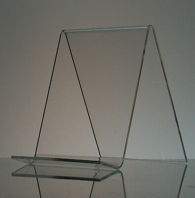 6  Acrylic Book Easel Artwork Display Stand