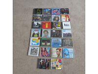 26 CDs - GEORGE EZRA, THE BEATLES, AEROSMITH, ALICE COOPER, BON JOVI ETC.