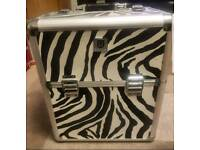 Zebra Print Beauty / Nail Case