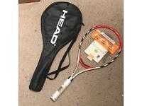 Head tennis racket brand new ti radical 27 plus case