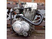BTS 125 Trail Bike Engine Assembly