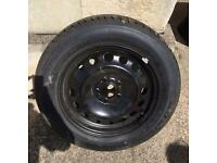"""2 brand new 16"""" ford transit connect wheels with new tyres. PCD 5x108"""
