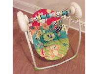 Bright Stars Baby Swing And Changing Mat