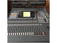Yamaha 02R Digital mixing disk very clean