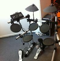 Yamaha DTX 500 electric drums.