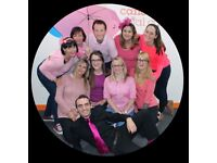 Go Pink! Breast Cancer Awareness Month Volunteer Cardiff