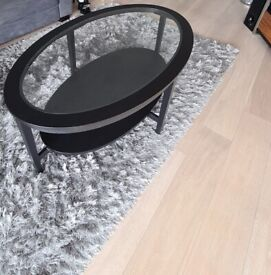 Ikea MALMSTA Coffee table, black-brown130x80 cm, used& in Excellent condition
