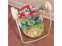 Bright Stars Portable Swing Plus Changing Mat