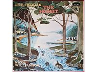 The Hobbit on four vinyl LPs, very good condition