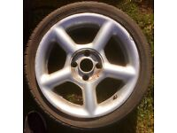 Set of Four 16 inch Ford Four Stud Alloy Wheel with Yoko Tyres On