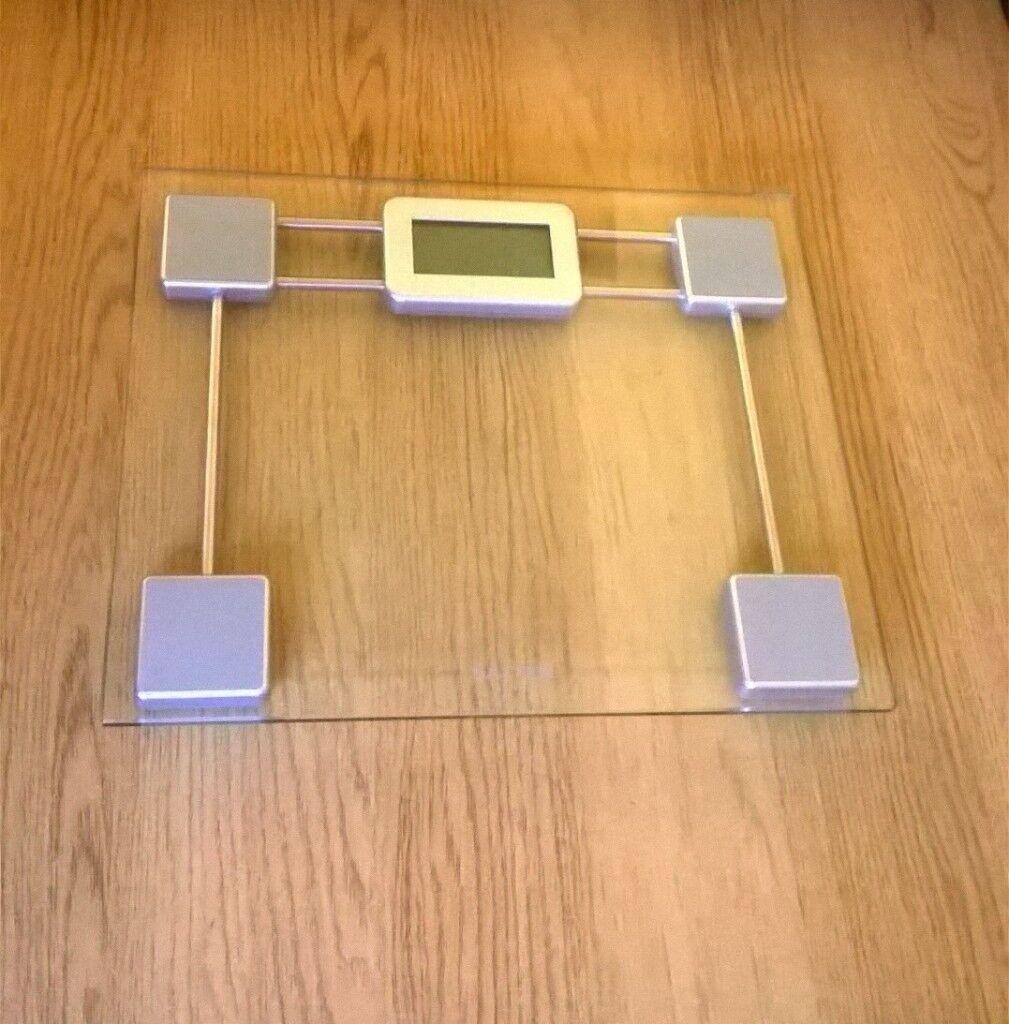 Salter Toughened Glass Digital Bathroom Scales