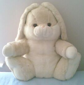 LARGE, CUDDLY and Very SOFT Toy, Easter RABBIT,