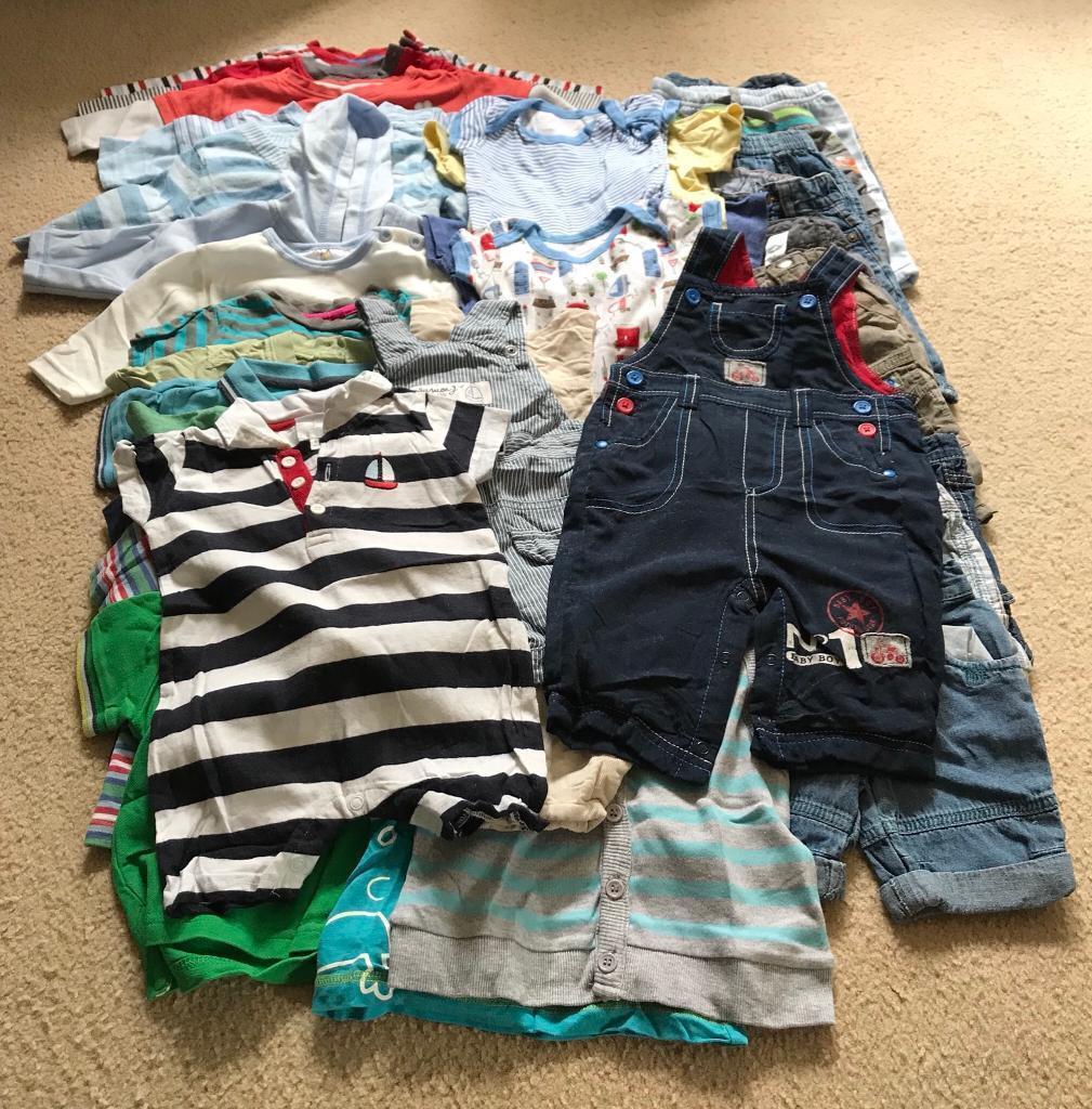 801e62594206 Boys Clothes 0-3 months assorted.