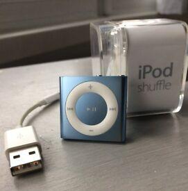 Apple iPod Shuffle 2GB 4th Gen -Blue