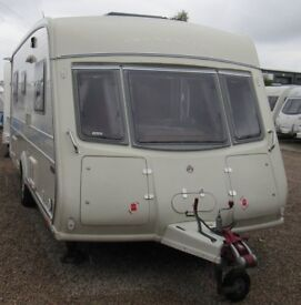VANMASTER APPLAUSE 2010 *FIXED BED* 4 BERTH CARAVAN