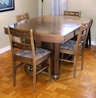 Reduced - Vintage Dining Set OBO for all (willing to separate)