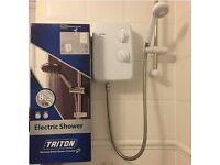 Electric Shower (Triton - Riba 8.5 kW) barely used was £50