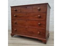 Antique Chest Of Drawers (DELIVERY AVAILABLE FOR THIS ITEM OF FURNITURE)