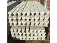 🍁 CONCRETE BASE PANELS/ GRAVEL BOARDS/ FENCING POSTS ~ NEW