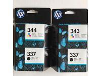 HP Ink Cartridges.