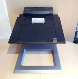 Dell E-View Laptop Stand MT002 and PR03X Docking Station for Dell Latitude E Series Laptops