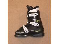 S/H Salomon T3 Junior Ski Boots Size 23.0 UK 4